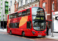 Route EL1, Go Ahead London, WVL334, LX59DDL, Barking