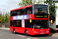 Route 53, Selkent ELBG 15059, LX09AED, Woolwich