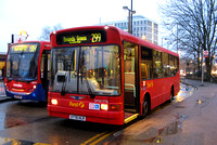 Route 299, First London, DM41776, X776HLR, Cockfosters
