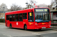 Route P12, Go Ahead London, SE166, YX61DVR, Surrey Quays
