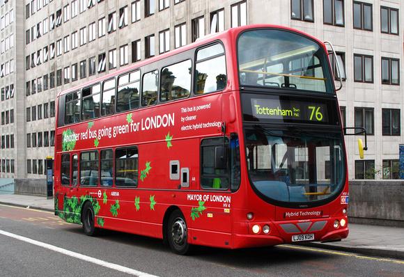 London Bus Routes Route 76 Tottenham Hale Waterloo