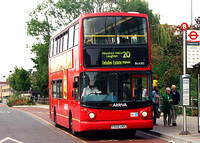 Route 20, Arriva London, DLA302, Y502UGC, Loughton