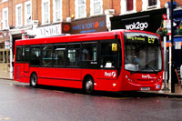 Route E9, First London, DML44120, YX09FNJ, Ealing Broadway