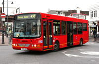 Route 498, Arriva Southend 3971, YE06HPX, Romford