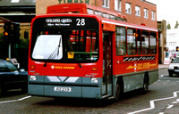 Route 28, Gold Arrow, DW31, JDZ2331, Wandsworth