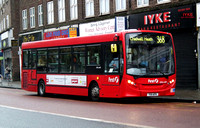 Route 368, First London, DML44171, YX11AFK, Barking