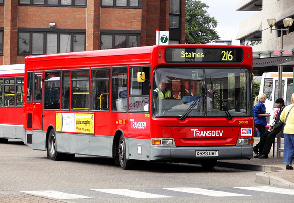 London Bus Routes Route 216 Kingston Staines Route