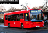 Route P12, Go Ahead London, SE163, YX61DVN, Surrey Quays