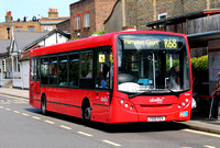 Route R68, Abellio London 8539, YX10FEV, Richmond