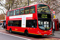 Route 14, Go Ahead London, WVL68, LF52ZTN, Hyde Park Corner