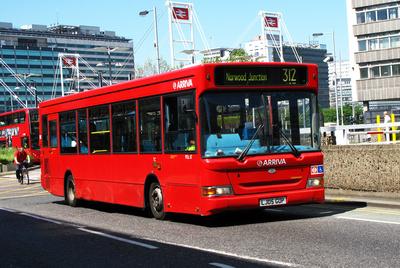 Route 312, Arriva London, PDL117, LJ05GOP, East Croydon