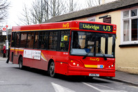 Route U3, First London, DMC41509, LK03NLT, West Drayton