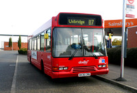 Route U7, Abellio London 8417, W435CRN, Lombardy Retail Park