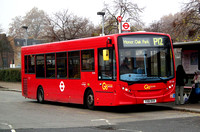Route P12, Go Ahead London, SE158, YX61DVH, Surrey Quays
