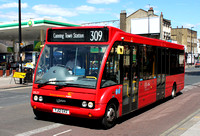 Route 309, CT Plus, OS27, YJ12GVZ, Bethnal Green