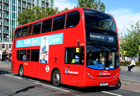 Route 99, Stagecoach London 12345, SN64OGU, Woolwich