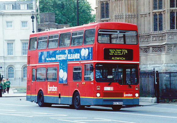Route 77A, London General, M760, KYV760X, Westminster