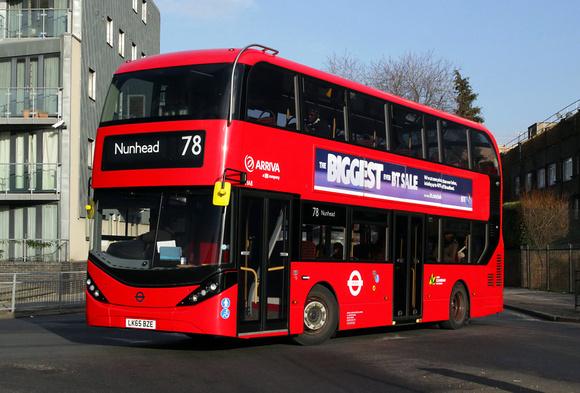 London Bus Routes Route 78 Nunhead Shoreditch Route