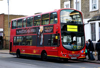Route 77, Go Ahead London, WVL96, LF52ZNJ, Tooting Broadway