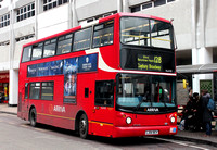Route 128, Arriva London, VLA103, LJ54BCV, Romford