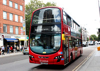 Route 341, Arriva London, DW326, LJ60AXH, Waterloo