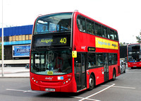 Route 40, Abellio London 9433, LJ09CAX, Elephant & Castle