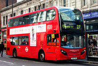 Route 27, London United RATP, ADH38, YX62FMV, Paddington