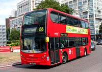 Route 188, Abellio London 2408, SN61DFZ, Elephant & Castle