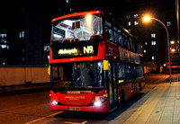 Route N9, London United, SP49, YT09BNE, Hammersmith