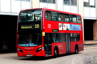 Route 220, London United RATP ADE46, YX62BBO, Hammersmith