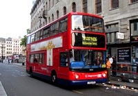 Route N26, Stagecoach London 18464, LX55EPO, Charing Cross