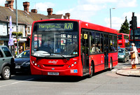 Route R70, Abellio London 8531, YX10FEH, Fulwell