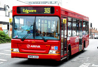 Route 303, Arriva The Shires 3805, SN56AXH, Edgware