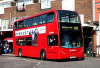 Route 150, Arriva London, T182, LJ60AUL, Ilford