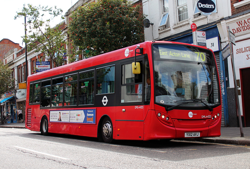 London Bus Routes Route 70 Chiswick Business Park