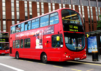 Route 466, Arriva London, DW1, 801DYE, East Croydon