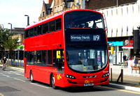 Route 119, Go Ahead London, WVL509, BF63HDE, Croydon