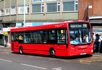 Route H98, London United RATP, DLE25, SN60ECV, Hayes & Harlington