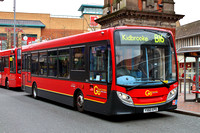 Route B16, Go Ahead London, SE62, YX60EPO, Bexleyheath