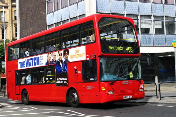 London Bus Routes Route 405 Redhill West Croydon