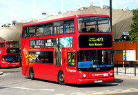 Route 473, Stagecoach London 17473, LX51FLJ, Stratford