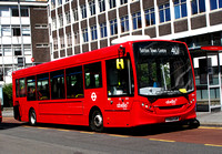 Route 407, Abellio London 8834, YY64YJR, Croydon