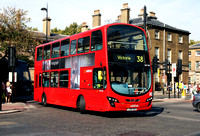 Route 38, Arriva London, DW203, LJ09SUU, Belgravia