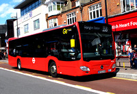 Route 358, Go Ahead London, MEC60, BF65HVB, Bromley