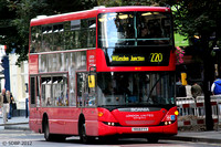 Route 220, London United RATP, SP117, YR59FYY, Shepherd's Bush