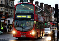 Route N18, First London, VN37798, LK59FCO