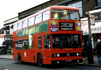 Route 287, London Transport, T107, CUL107V