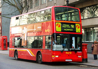 Route 91, First London, TN32876, T876KLF, Aldwych