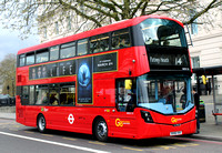 Route 14, Go Ahead London, WHV119, BV66VHX, Hyde Park Corner