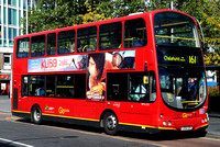 Route 161, Go Ahead London, WVL233, LX06DZR, Woolwich